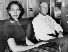 Richard P. Loving and his wife, Mildred, pose in this Jan. 26, 1