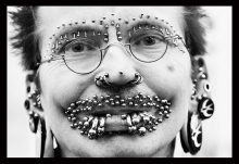 worlds most pierced man