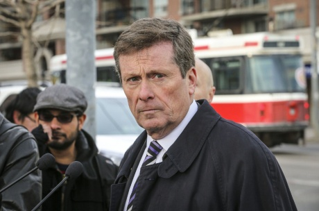 Mayor John Tory and TTC Chair Josh Colle will join TTC CEO Andy Byford to make an important transit announcement for riders of the 504 King streetcar.