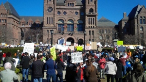 protesters-gather-on-front-lawn-of-queen-s-park