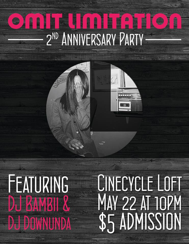Omit Limitation Turns Two! Come Celebrate!