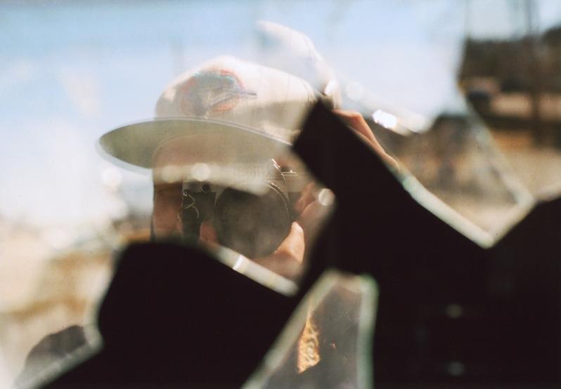 Self Portrait Levack Broken Window